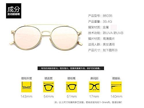 style en Lennon lunettes rond cercle métallique retro soleil Glacier vintage polarisées du de inspirées Bleu n8qwBxzAXq