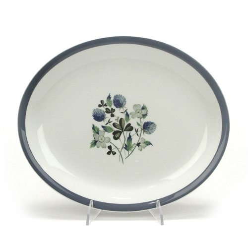 Blue Clover by Alfred Meakin, Ironstone Serving Platter