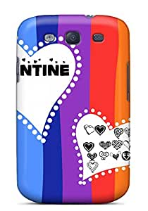 New Style Tpu S3 Protective Case Cover/ Galaxy Case - Colorful Valentine
