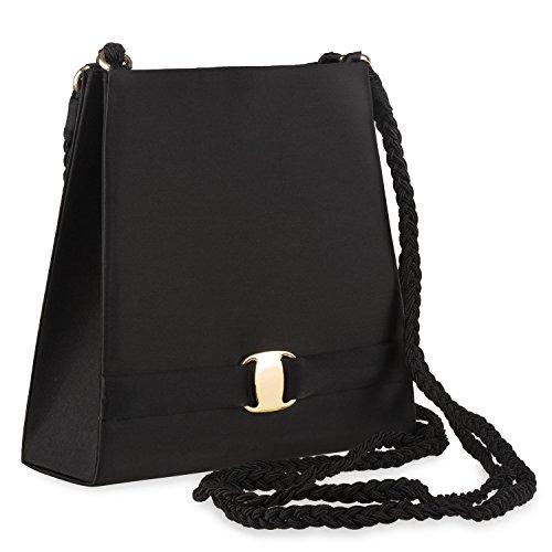 Black Womens Shoulder Black Farfalla 80870 Bag 8dUYnnqIw