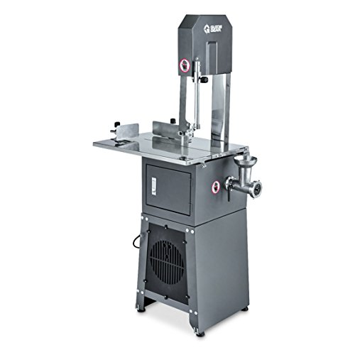 Guide Gear Electric Meat Cutting Band Saw and Grinder - Meat Saw
