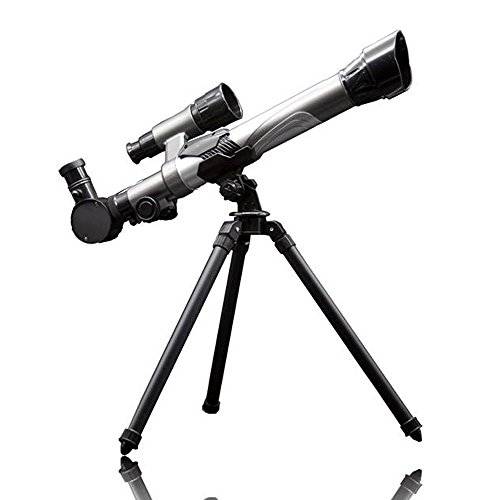 - Little World Telescope for Kids Discover Nature Exploration Toy Kit Series Astronomy Starter with finderscope and Multiple Magnification 20X 30X 40X