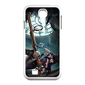 Samsung Galaxy S4 9500 Cell Phone Case White League of Legends Caitlyn 0 LM5676640