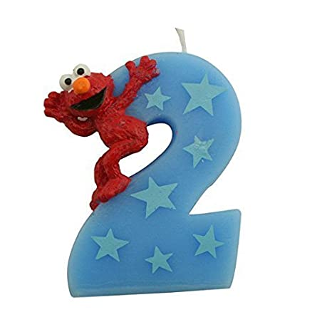 Buy Sesame Street Elmo Number 2 Birthday Cake Candle Online At Low Prices In India