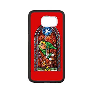The Legend of Zelda The Wind Waker Samsung Galaxy S6 Cell Phone Case Black yyfD-365001
