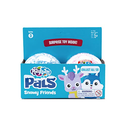 Educational Insights Playfoam Pals Snowy Friends 2 Pack: Collectible Toy with Original Playfoam