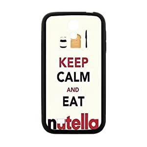 Keep Calm And Eat Nutella Cell Phone Case for Samsung Galaxy S4