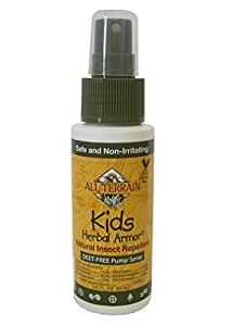 All Terrain Kids Herbal Armor Deet-Free Natural Insect Repellent Spray
