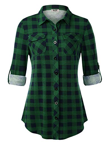 DJT Plaid Tunic, Women