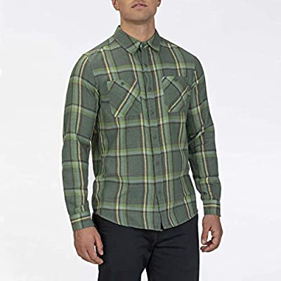 Hurley M Creeper Washed L/S Camisa, Hombre, Galactic Jade, XL: Amazon.es: Deportes y aire libre