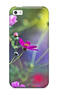 New Amazing Flowers Tpu Case Cover, Anti-scratch Skwejpe5399QTfGx Phone Case For Iphone 5c
