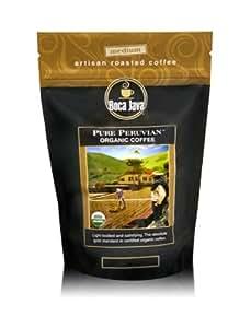 Boca Java Roast to Order Pure Peruvian Organic, Whole Bean, Certified Organic Coffee, 3 Count