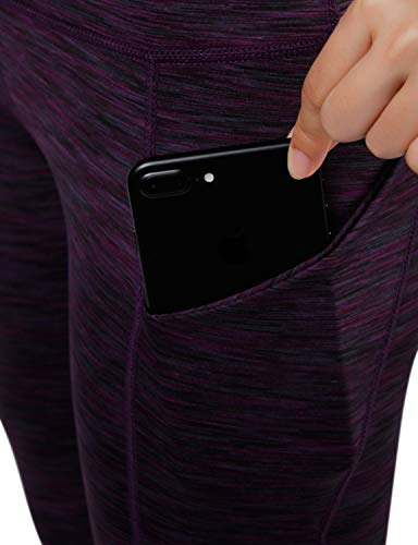 ODODOS High Waist Out Pocket Yoga Short Tummy Control Workout Running Athletic Non See-Through Yoga Shorts 18