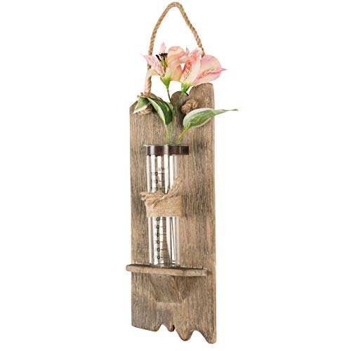 Excello Global Products Rustic Wall Hanging Flower Vase: 13