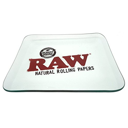 RAW Glass Rolling Tray - Limited Edition Large from RAW Rolling Papers by RAW, ES Distributions (Image #3)