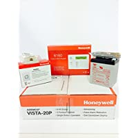 Honeywell Vista 20P, 6160 Keypad, Battery, Siren, RJ31X Jack and Cord Kit Package