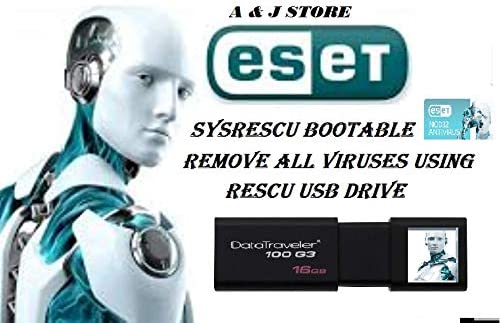 Amazon Com Eset System Rescue Bootable Antivirus Tool Usb Easy