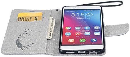 Guran® Funda de Cuero para Honor 5X Smartphone Función de Soporte ...