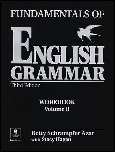 Amazon.com: Fundamentals of English Grammar Workbook B (with ...