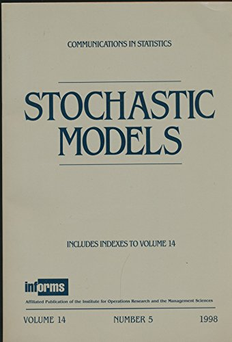 Stochastic Models : Resampling for Markov Chains; Submodular Value Functions; Norton's Equivalent for Batch Routing Queueing; The MAP/PH/1 Retrial Queue; Algorithms Applied to Polling Systems