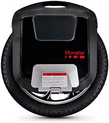 Gotway Monster 3-2400 Wh Gyroroue Adulte Unisexe, Noir, Taille Unique