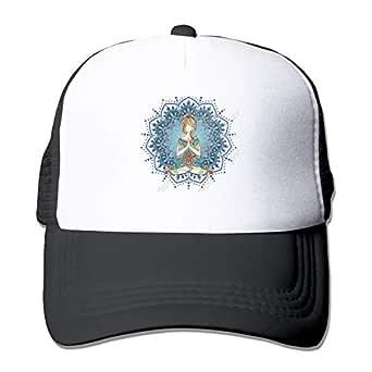 Chakra Yoga Impression Lotus - Gorro de Malla Unisex Ajustable ...