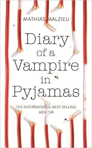 Image result for Diary of a Vampire in Pyjamas by Mathias Malzieu
