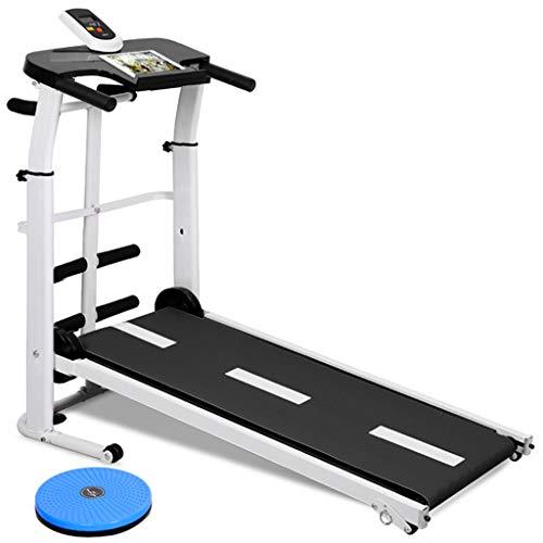 Treadmills QFF@ Opvouwbare Handleiding Wandelen Verstelbare Hoogte Helling Niet Gemotoriseerde Mini Fitness Wandelen…
