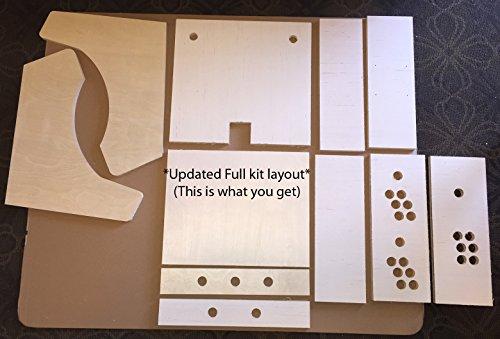 Table or Bartop Arcade Cabinet - Machine Cut - High ...