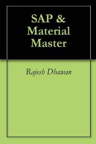 SAP &  Material Master Pdf