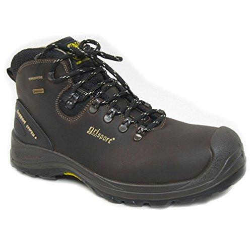 Grisport grs966–43–Botas de seguridad impermeables de los humedales, tamaño: 43, color marrón (Pack de 2)