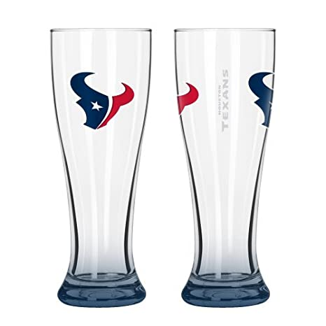 5b866a845d2 Amazon.com   NFL Football Elite Series Pilsner Glasses - 16 ounce ...