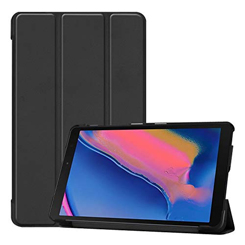 """Smart Case for Samsung Galaxy Tab A 8 (2019) P200 / P205, Ratesell Lightweight Smart Trifold Stand Case Cover for Samsung Galaxy Tab A 8 / Galaxy Tab A with S Pen 8.0"""" / Galaxy Tab A Plus 8 Black"""
