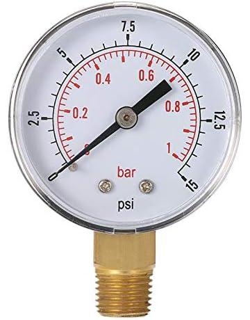 Mini medidor de Baja presión para Combustible, Aire, Aceite o Agua 50 mm 0