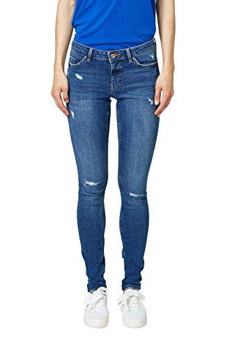 Esprit by Jean edc Skinny Bleu Blue Wash Medium 902 Femme wTqqBdvW5