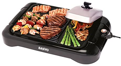 Amazon.com: Sanyo HPS-SG4 Extra-Large Indoor Barbecue Grill and ...