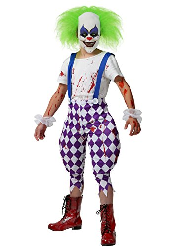 Rio Blu Costumes Toddler (Kids Nightmare Clown Costume Small)