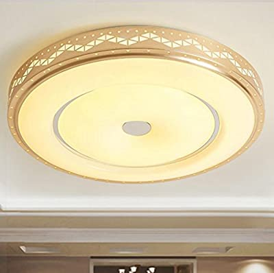Jingzou Led ceiling lamp round living room bedroom acrylic restaurant lights simple modern
