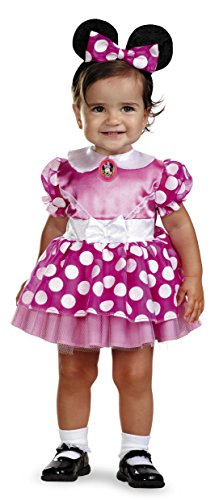 Minnie Mouse Clubhouse - Pink Minnie Mouse Infant Costume 12-18 Months (Halloween Minnie Mouse Costume)