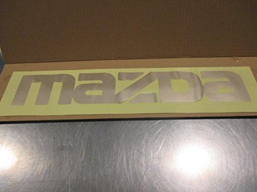New Mazda B2000, B2200 & B2600 New OEM Gold MAZDA tailgate decal UC90-51-711 70