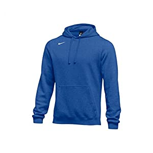 Nike Men's Club Fleece Hoodie, Varsity Royal (Medium)