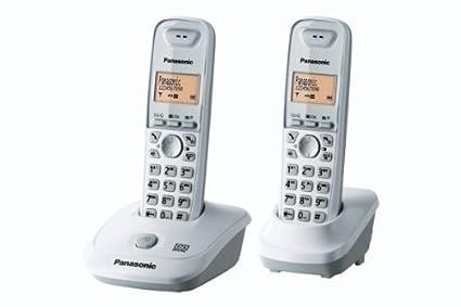 T�l�phone fixe PANASONIC KXTG2522 BLANC DUO SANS REPONDEUR
