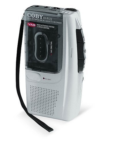 Coby CX-R122 Micro Cassette Recorder by Coby