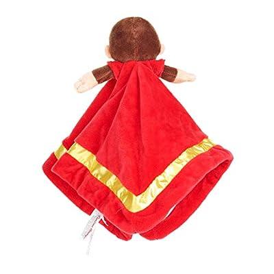 KIDS PREFERRED Curious George Stuffed Animal Monkey Blanket: Toys & Games