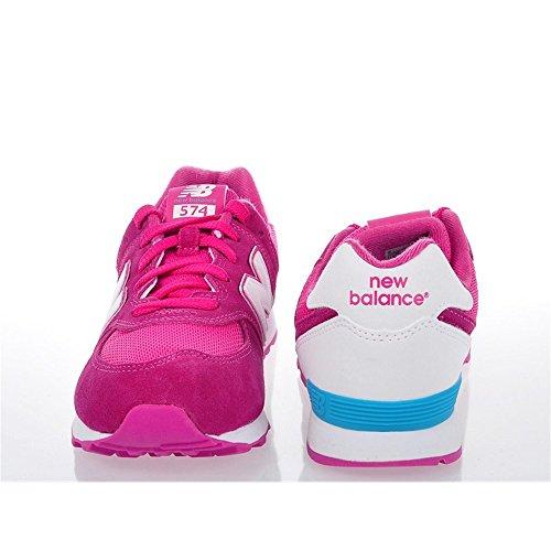 New Balance Kl574czg M, Zapatillas Unisex Niños Pink White