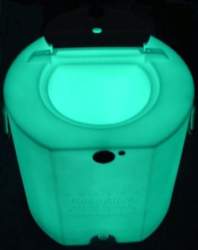 Keep Alive 30 Gallon Portable Bait Tank with Nite-glo by Keepalive