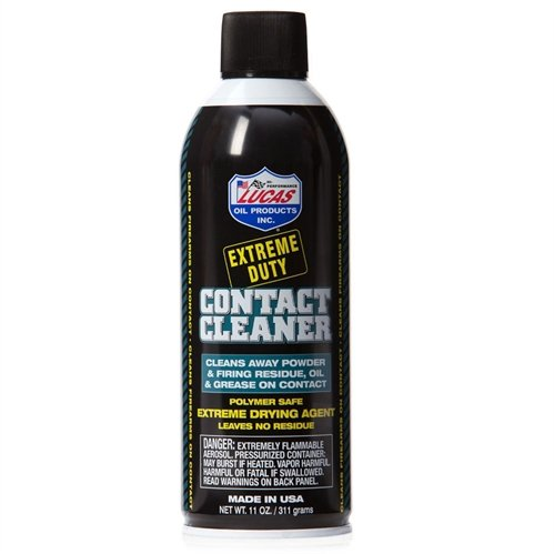 Lucas Oil 10905 Extreme Duty Contact Cleaner (11oz.), 1 Pack (And 1 1 Contact)