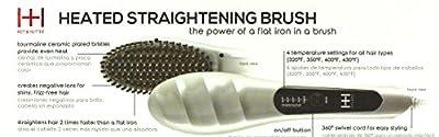 Hot and Hotter Heated Straightening Brush 5849