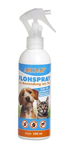 Quiko 077425 Ardap Flohspray zur Anwendung am Tier, 250 ml