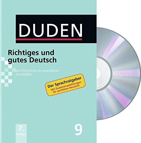 Duden - Richtiges und gutes Deutsch plus CD-ROM (Duden - Deutsche Sprache in 12 Bänden)